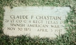 Claude P Chastain