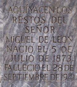 Sr Miguel De Leon