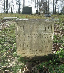 Sarah Jane <i>Humphreys</i> Ham