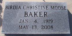 Birdia Christine <i>Moose</i> Baker
