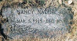 Nancy Nadine Nance <i>Davis</i> Rock