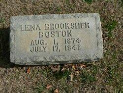 Lena <i>Brooksher</i> Boston