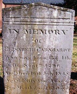 Mary Sarah Elizabeth <i>Lentz</i> Barnhardt