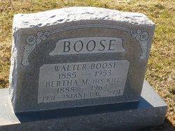 Bertha May Boose