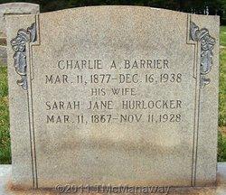 Charlie Alexander Barrier