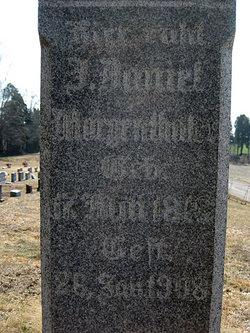 J. Daniel Morgenthaler