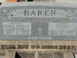 Anna Maria <i>Kunz</i> Baker