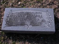 Hazel L. Asbill