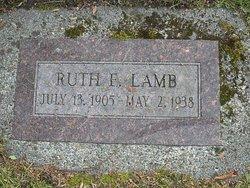 Ruth Ellenor <i>Ross</i> Lamb
