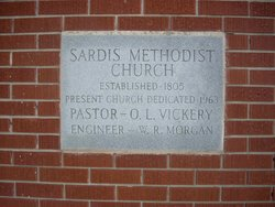 Sardis Methodist Church Cemetery