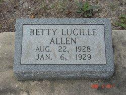 Bettie Lucille Allen