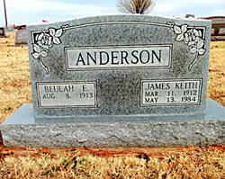 Beulah E <i>Mayes</i> Anderson