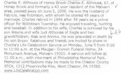 Charles E Althouse