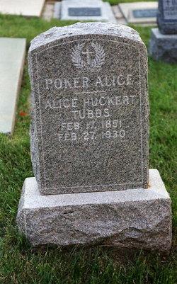 Alice Huckert Poker Alice <i>Ivers</i> Tubbs