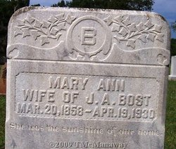 Mary Ann Bost