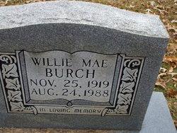 Willie Mae Burch