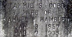 Tammie Sophia <i>Cobb</i> Hamblet
