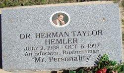 Dr Herman Taylor Mr. Personality Hemler
