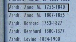 Anna Mary <i>Frederick</i> Arndt