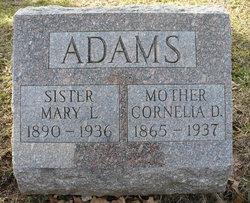 Cornelia D. Adams
