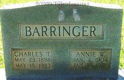 Annie W Barringer