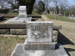 Mary <i>McPheeters</i> Speer
