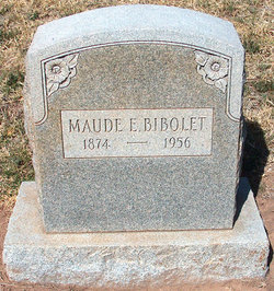 Maude Estelle <i>Skidmore</i> Bibolet