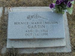 Bernice Marie <i>Nelson</i> Gartin