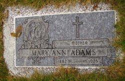 Mary-Ann <i>Mullarkey</i> Adams