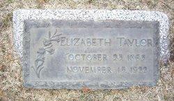 Elizabeth <i>Taylor</i> Bachman