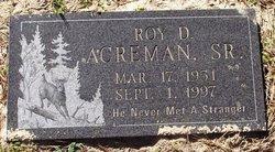 Roy D. Acreman, Sr