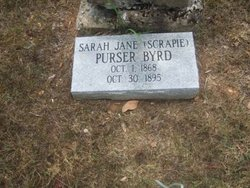 Sarah Jane Scrapie <i>Purser</i> Byrd