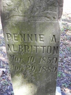 Penelope Aurelia Pennie <i>Brooks</i> Albritton