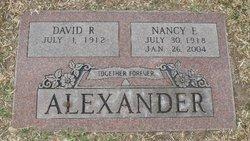 Nancy Eleanor <i>McClure</i> Alexander