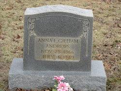 Anna F. <i>Gilliam</i> Andrews