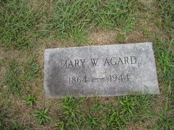 Mary W Agard