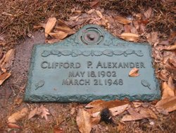 Clifford Palmer Alexander