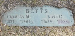 Kate G Betts