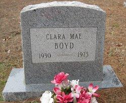 Clara Mae <i>Jones</i> Boyd