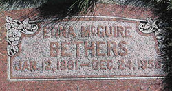 Edna <i>McGuire</i> Bethers