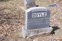 Martha Jane <i>Lasater</i> Doyle
