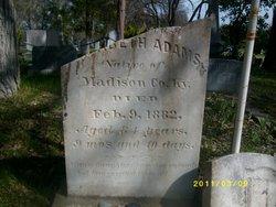 Elizabeth <i>Bone</i> Adams
