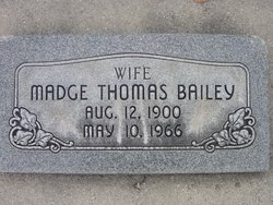 Maude Madge <i>Thomas</i> Bailey