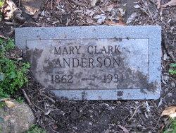 Mary Clark <i>Allen</i> Anderson