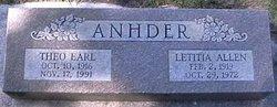 Letitia <i>Allen</i> Anhder