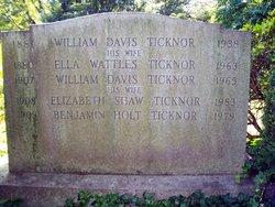 Ella Frances <i>Wattles</i> Ticknor