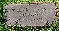 William Davis Ticknor, Jr