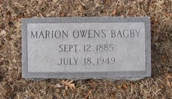 Marion Owens Bagby