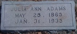 Julia Ann Adams