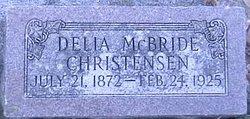 Delia Elmira <i>McBride</i> Christensen